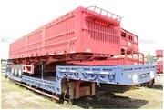 Полуприцеп зерновоз бортовой cimc 40 тонн