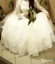 Тула свадебное платье в отличном состоянии продам