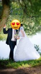 Шикарное свадебное платье,  такого больше ни у кого нет в Туле
