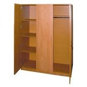 Шкаф для одежды ДСП двухстворчатый , шкафы для одежды в общежития, дома