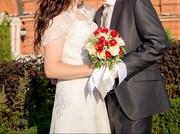 Продаю отличное свадебное платье 48 размер