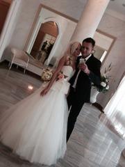 Свадебное платье б/у в отличном состоянии